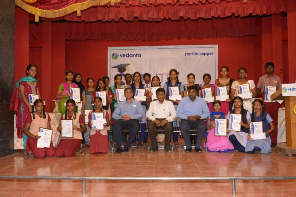Students with P Ramnath