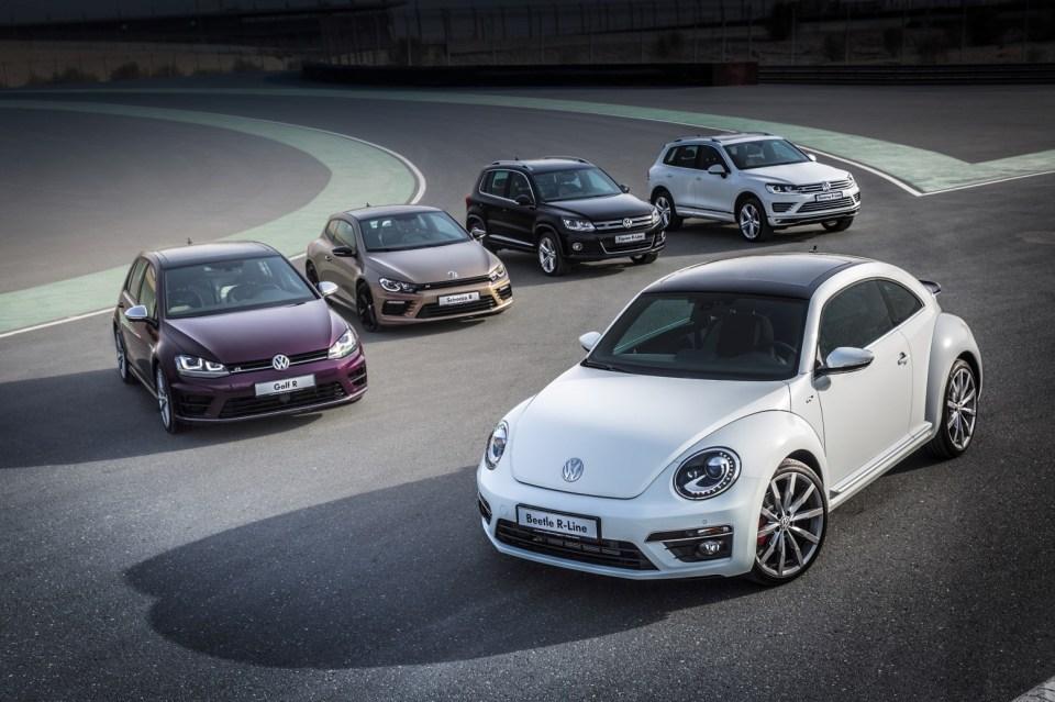Volkswagen Beetle R Line