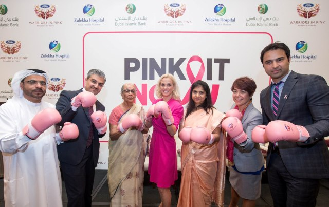 Zulekha Hospital Breast Cancer Awarness Campaign