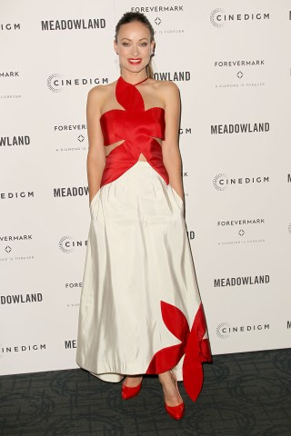 """New York, NY - 10/11/15 - Forevermark Presents a Special Screening of Cinedigm's """"Meadowland"""". -PHOTO by: Aurora Rose/startraksphoto.com -AUR_0021.JPG - Olivia Wilde Startraks Photo New York, NY For licensing please call 212-414-9464 or email sales@startraksphoto.com Startraks Photo reserves the right to pursue unauthorized users of this image. If you violate our intellectual property you may be liable for actual damages, loss of income, and profits you derive from the use of this image, and where appropriate, the cost of collection and/or statutory damages."""
