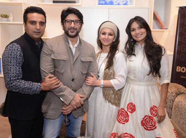 Ajay Mago  Arshad warsi Promila Bahri and Maria Goretti