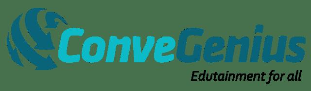 Convegenius logo with tagline