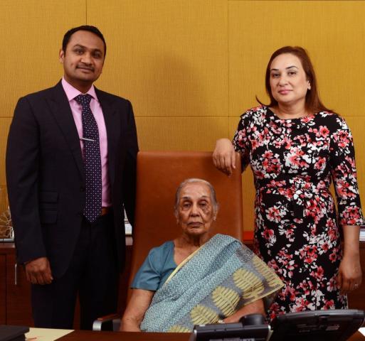 Mr. Taher Shams  Dr. Zulekha Daud & Ms. Zanubia Shams
