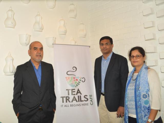 Mr. Uday Mathur  Mrs. Kavita Mathur & Mr. Sanjeev Potti   Co-founder  Tea Trails India