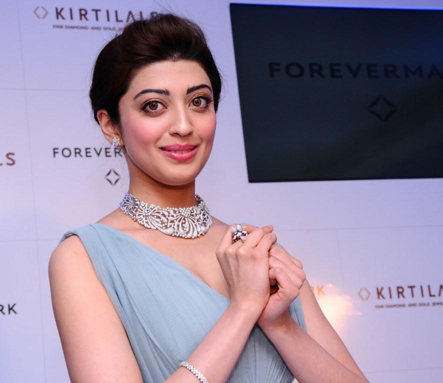 Pranitha Subhash at the launch of Forevermark Diamond at Kirtilals Bangalore
