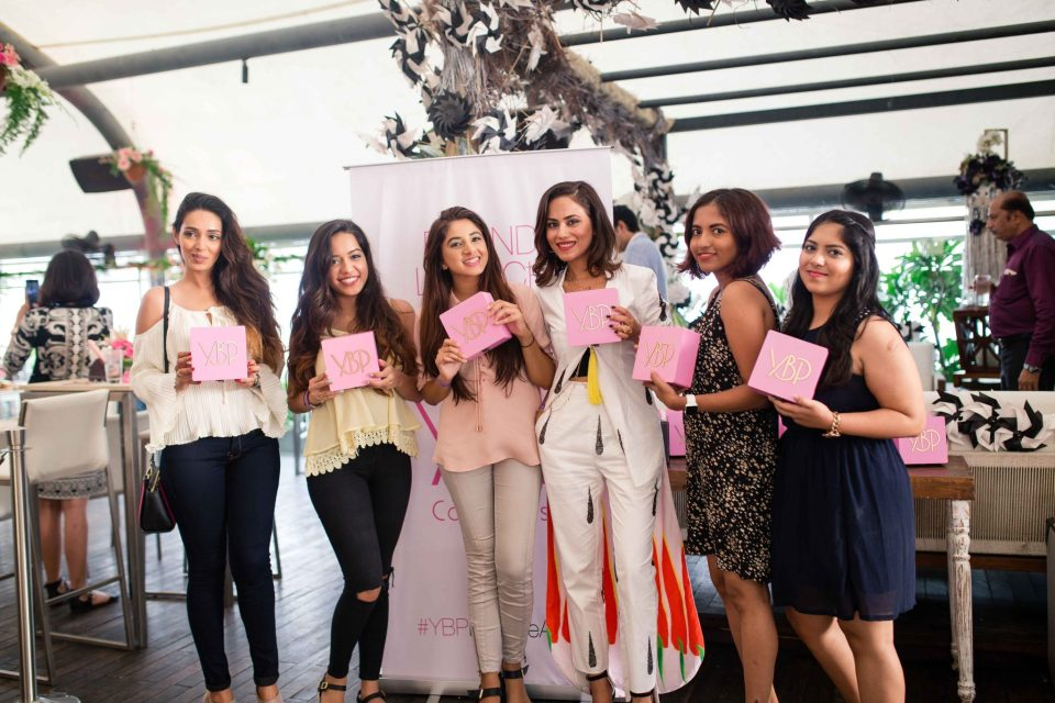Co-founder Payal Thaker with the bloggers