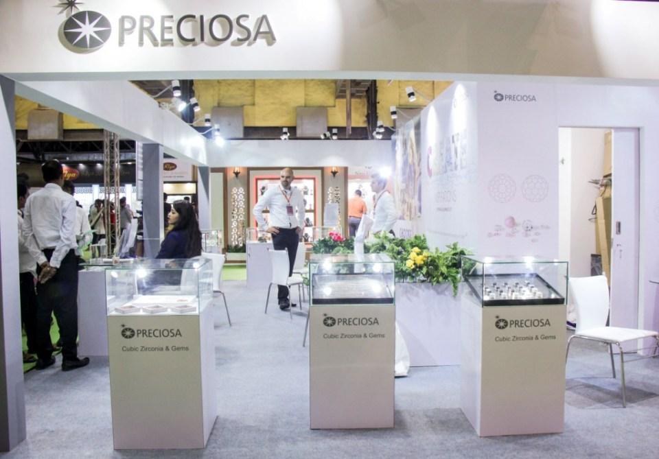 Preciosa Stall at IIFJAS Exhibition  Mumbai