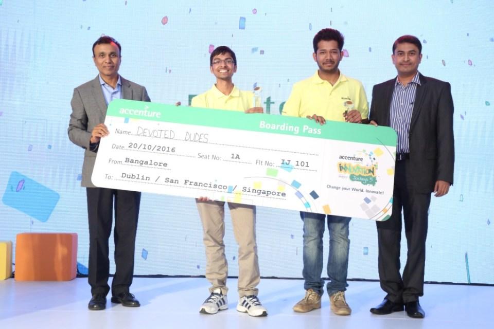 Accenture Announces Winners of 'Innovation Jockeys' Season