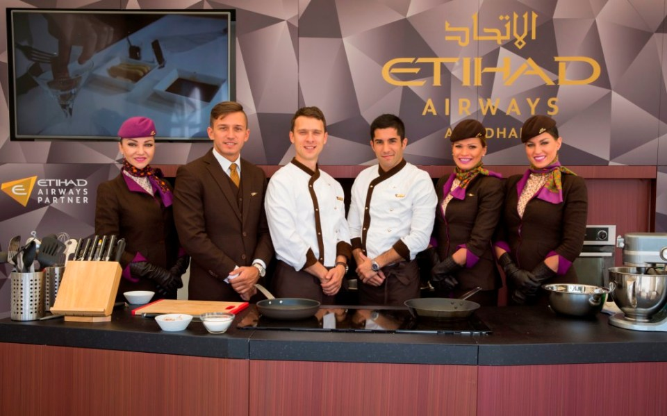 etihad-airways-inflight-chefs-and-cabin-crew