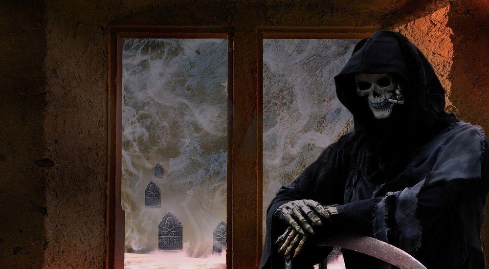 守護死神シリーズ - 『死神の守護』第1話(全8話)なんか笑える幽霊の話が急展開→怖い話に!