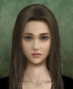 世界で怖い女性の絵