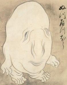 徳川家康、未知の生物と遭遇