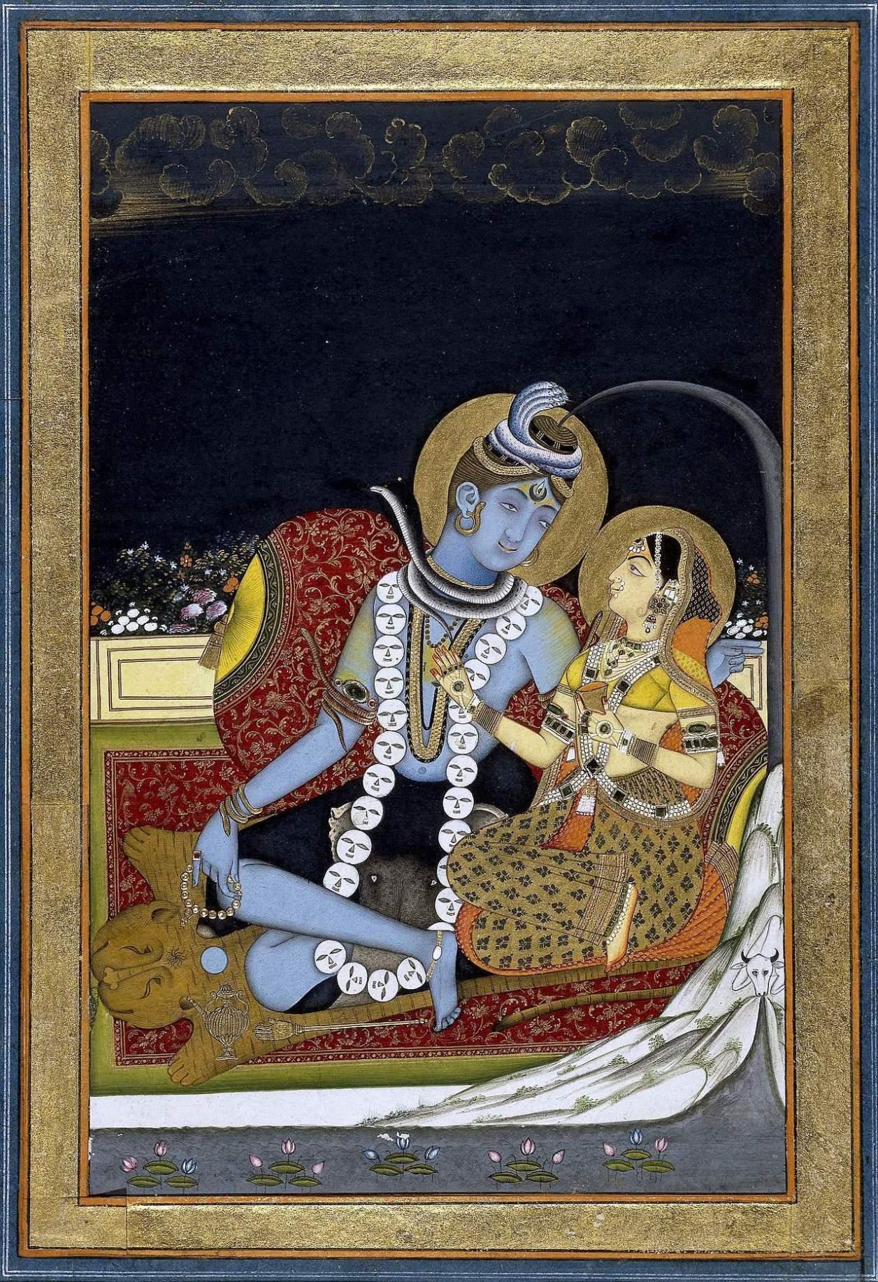シヴァ ヒンドゥー教の神。