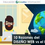 10 Razones del DISEÑO WEB vs el PAPEL