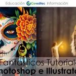 8 Fantasticos Tutoriales de: Photoshop e Illustrator