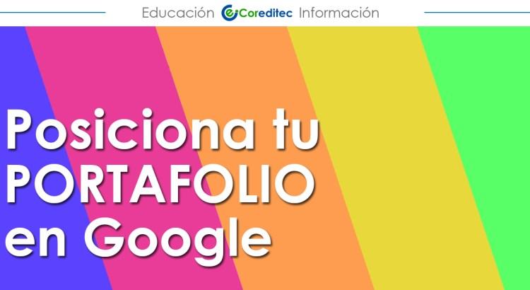 Posiciona tu Portafolio en Google