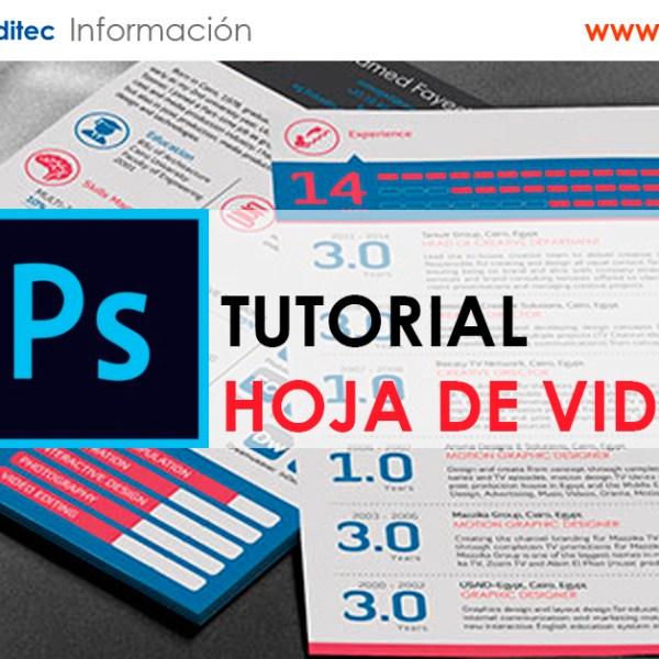 Diseña un Curriculum de diseñador con Photoshop