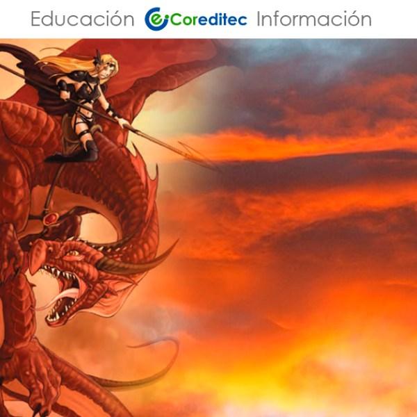 Aprende Ilustración de Dragones