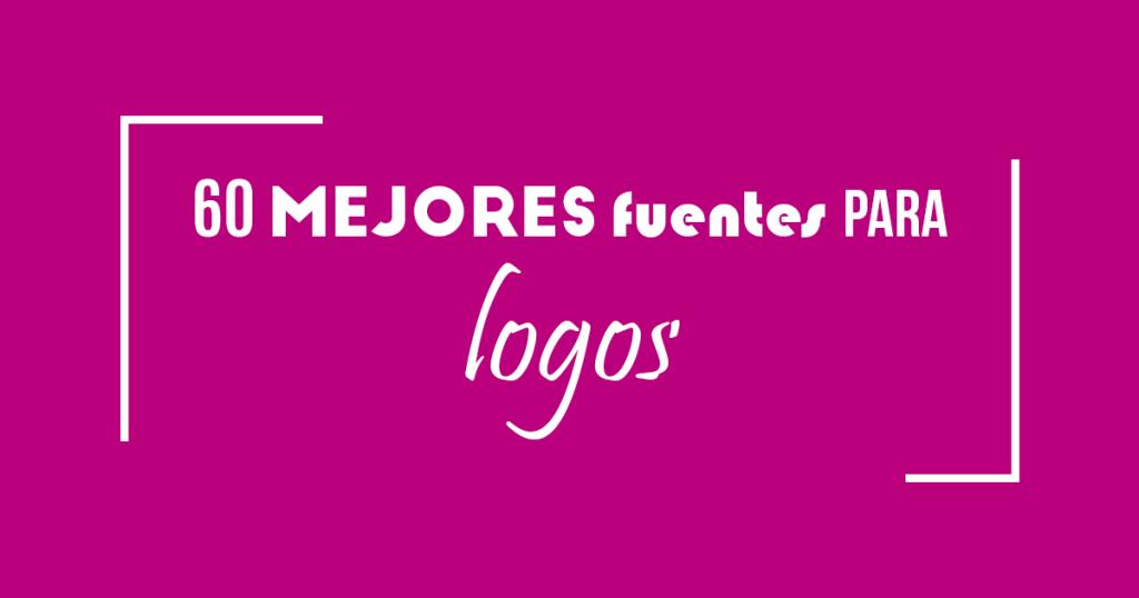 60 mejores fuentes para logos