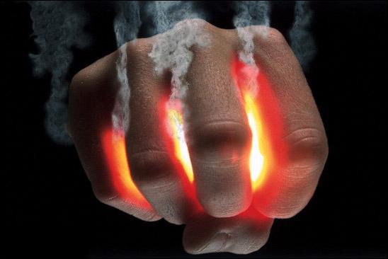 Grabbing onto Hot Coals