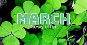 March newsletter - header