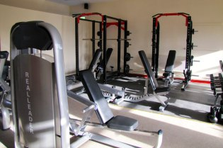 Free Weights Section - Durrow Gym