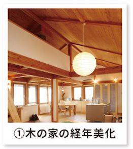 ①木の家の経年美化
