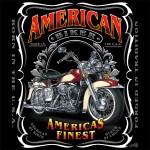 1214Wild Side American Biker design