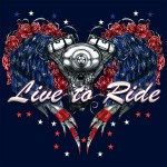 1215Wild Side Live To Ride 18360