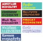 716Dalco New Fonts