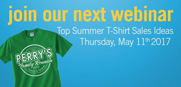 753f68a1477a Transfer Express Offers Free May Webinar On Ten Top Summer T-Shirt Sale  Events