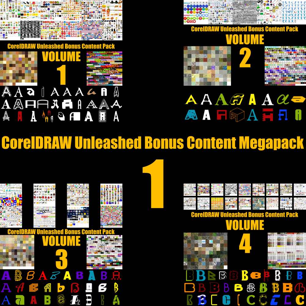 CorelDRAW Unleashed Bonus Content Mega Pack 1