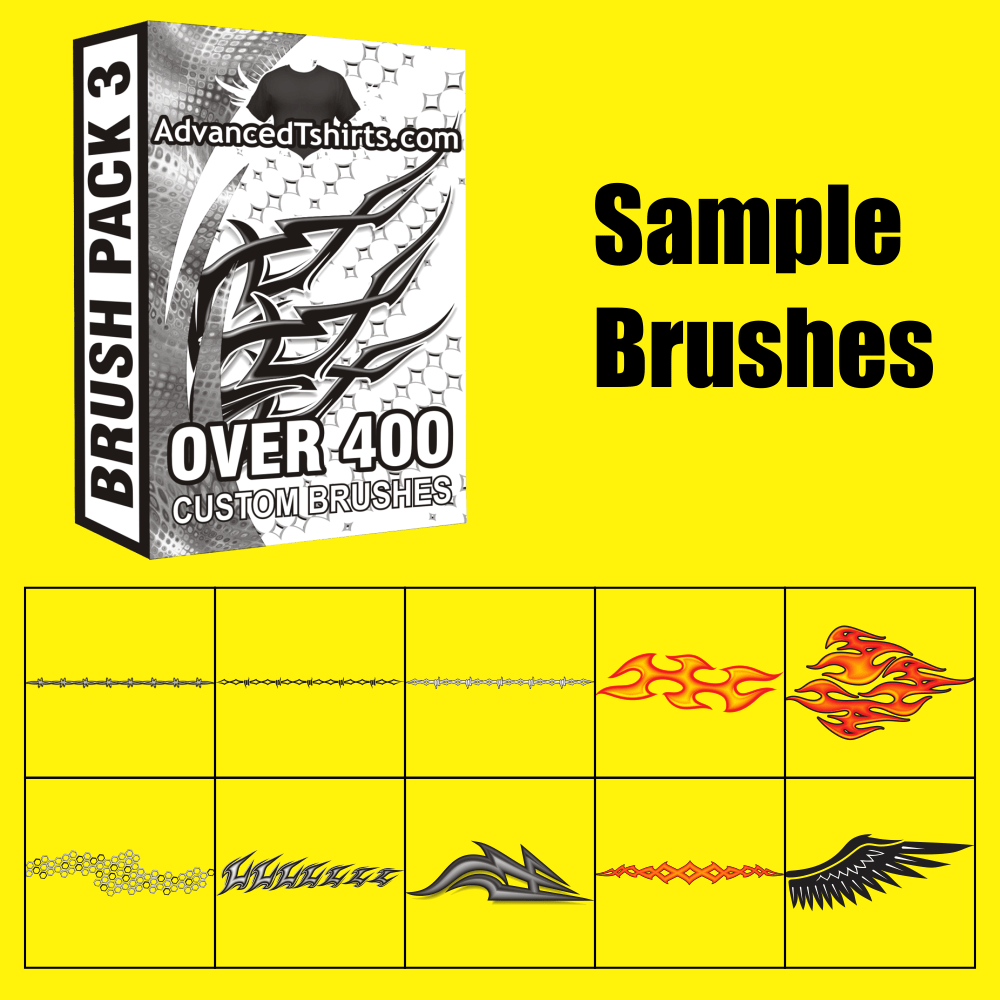 CorelDRAW Brush Pack 3 Samples