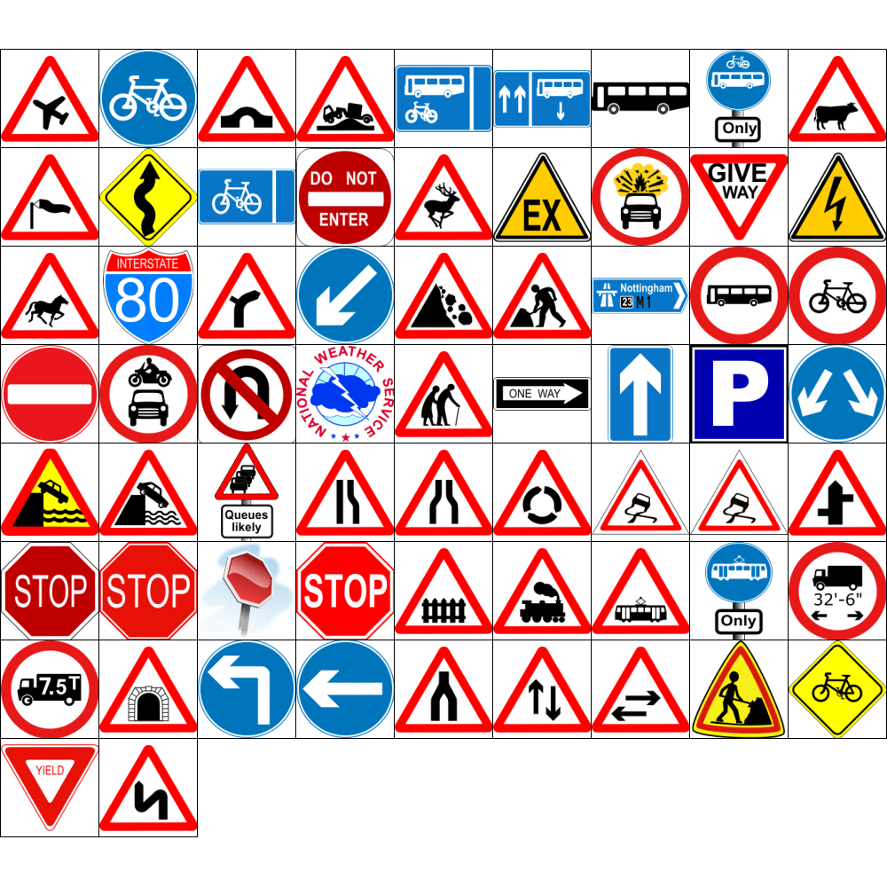 Road Signs Unleashed Volume 1