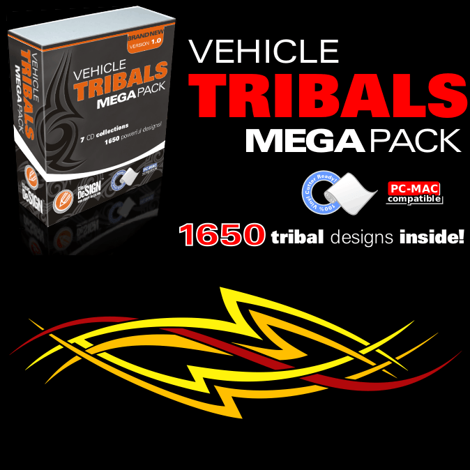 Vehicle Tribals Mega Pack