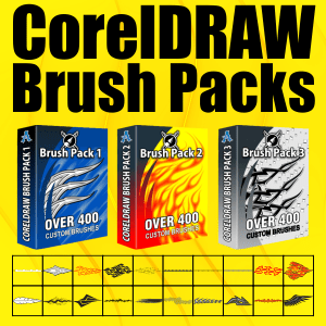 CorelDRAW Brush Packs