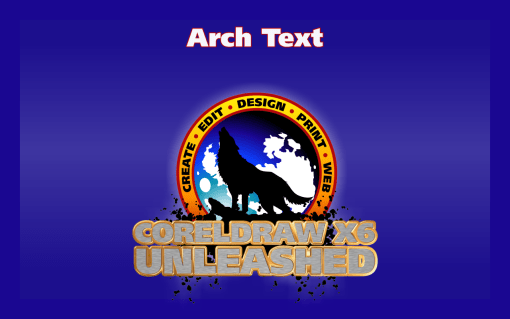 Creating Arch Text Effect in CorelDRAW