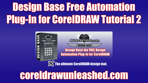 Design Base Free Automation Plug-In for CorelDRAW Tutorial 2