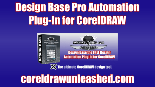 Design Base Pro Automation Plug-In for CorelDRAW