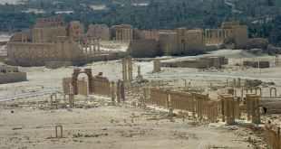 Palmyra's Temple of Bel, pre-Islamic State. Reuters/Gustau Nacarino