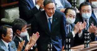 Yoshihide Suga is facing his first controversy as Japan's new prime minister. Kimimasa Mayam/EPA