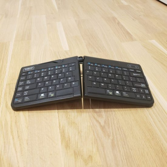 ergonomic travel keyboard