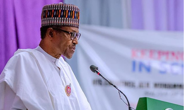 Image result for It's my last lap; I won't disappoint – Buhari assures
