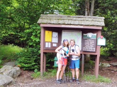 Trail head Adams / Madison