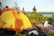 Little Kas tent side