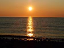 our sun set