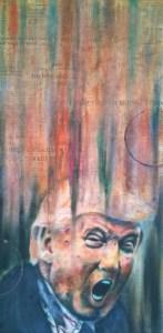 painting by Corey Okada: National Tantrum