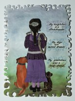 Breed, 2005, Pastel on paper, 41 x 29 x .75 inches