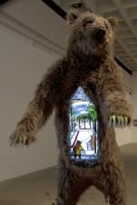 Malling Bear, 2014, Mixed Media, Dimensions variable
