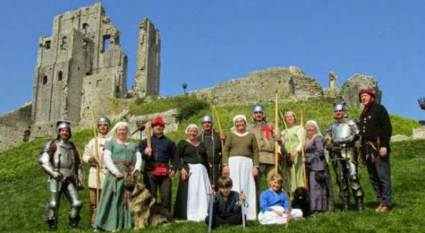 Corfe Castle - Family Fun